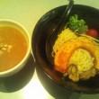 麺処 かっすい55『夏野菜冷しカレーつけ麺』