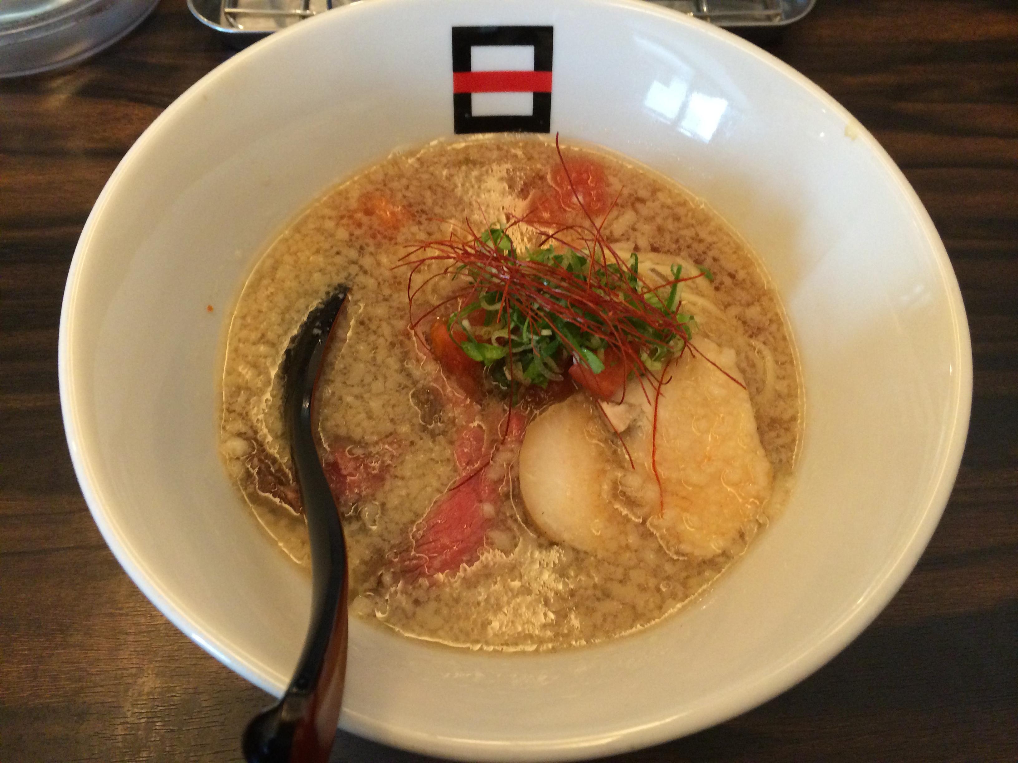煮干Tomato麺
