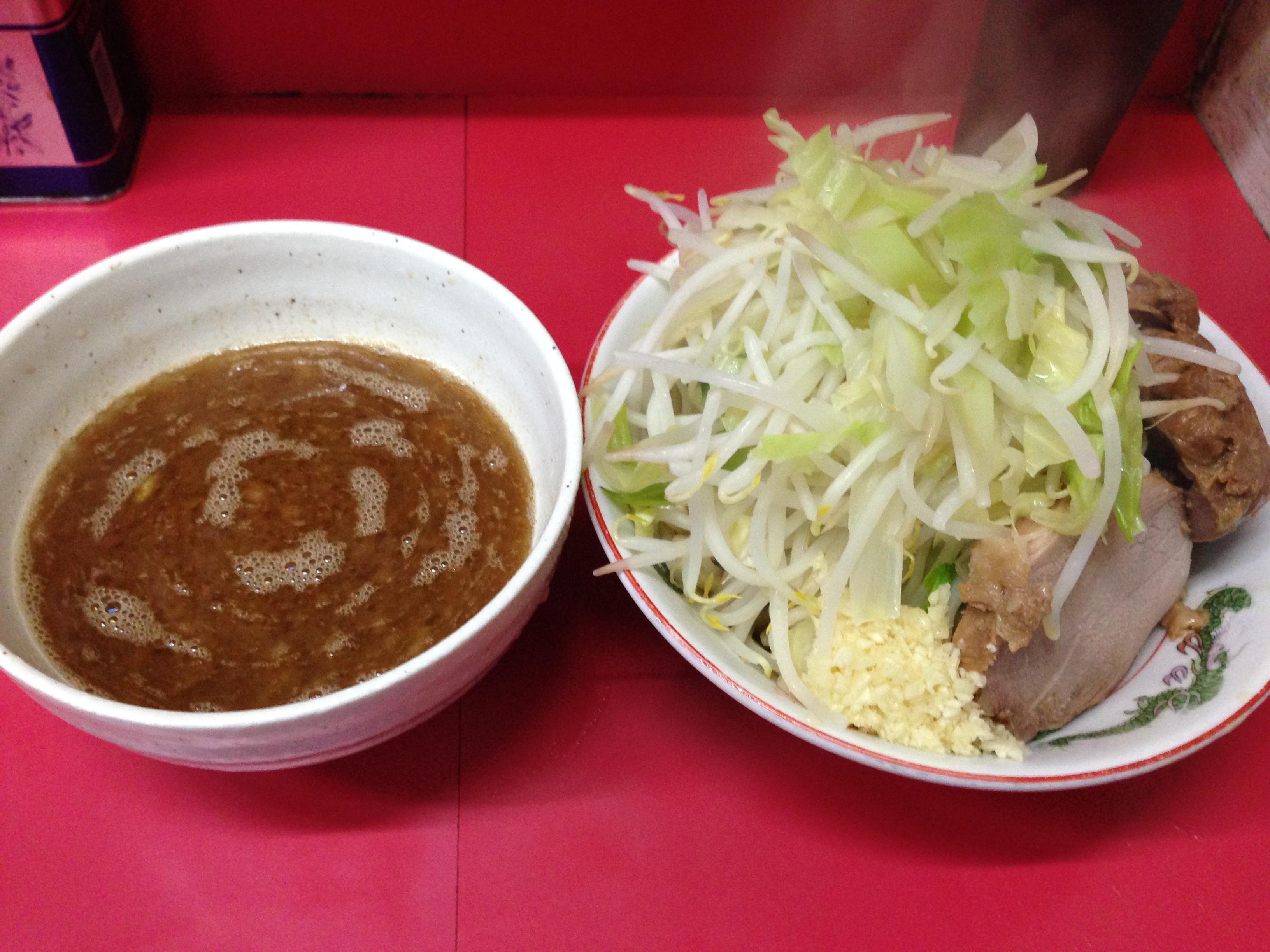 かつおぶしのつけ麺
