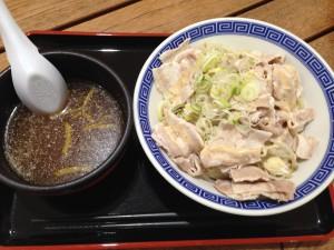 冷しゃぶつけ麺