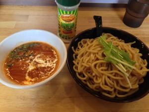 トマトえびつけ麺