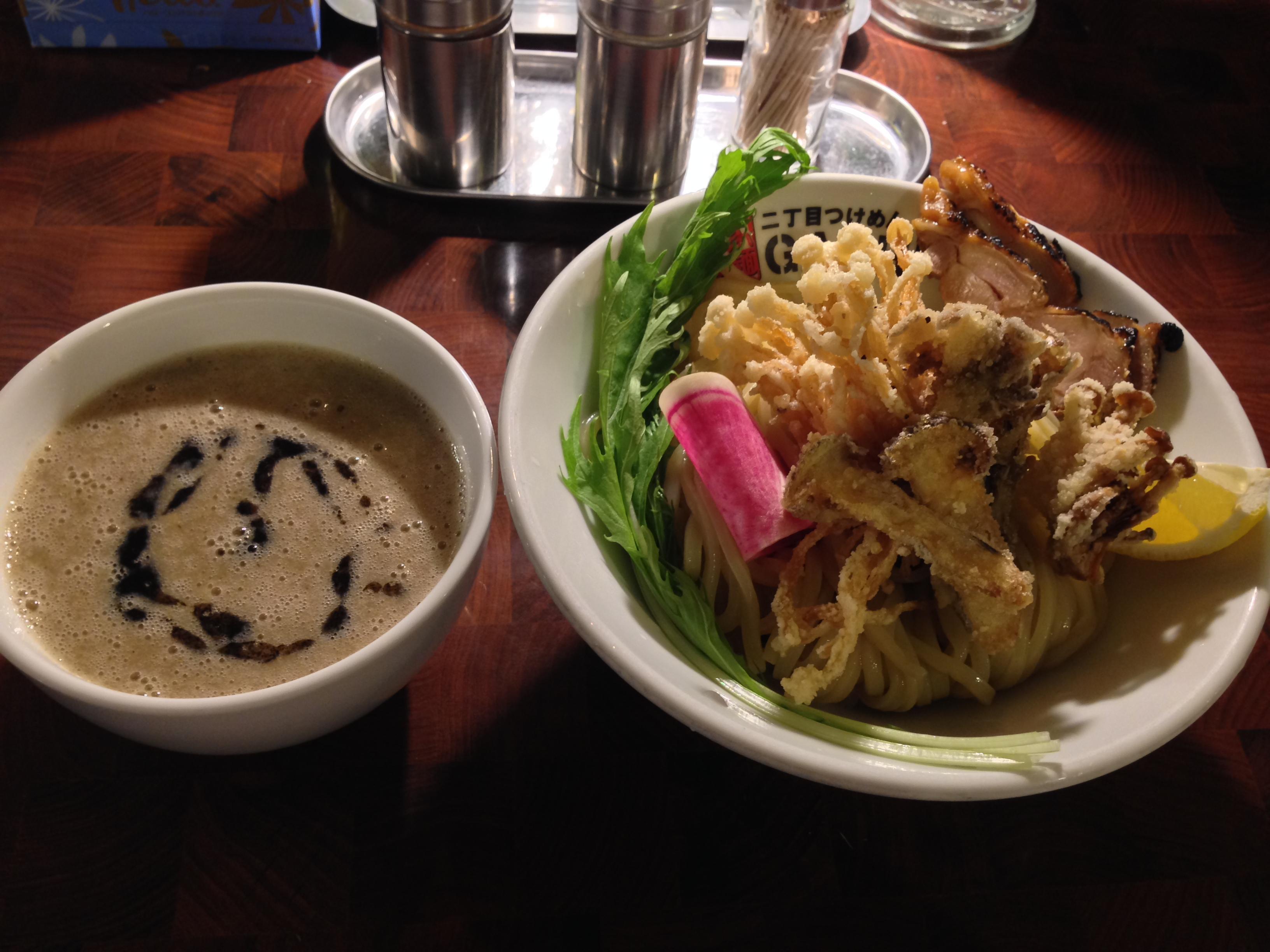 フライドきのこ鶏白湯~松茸入り~