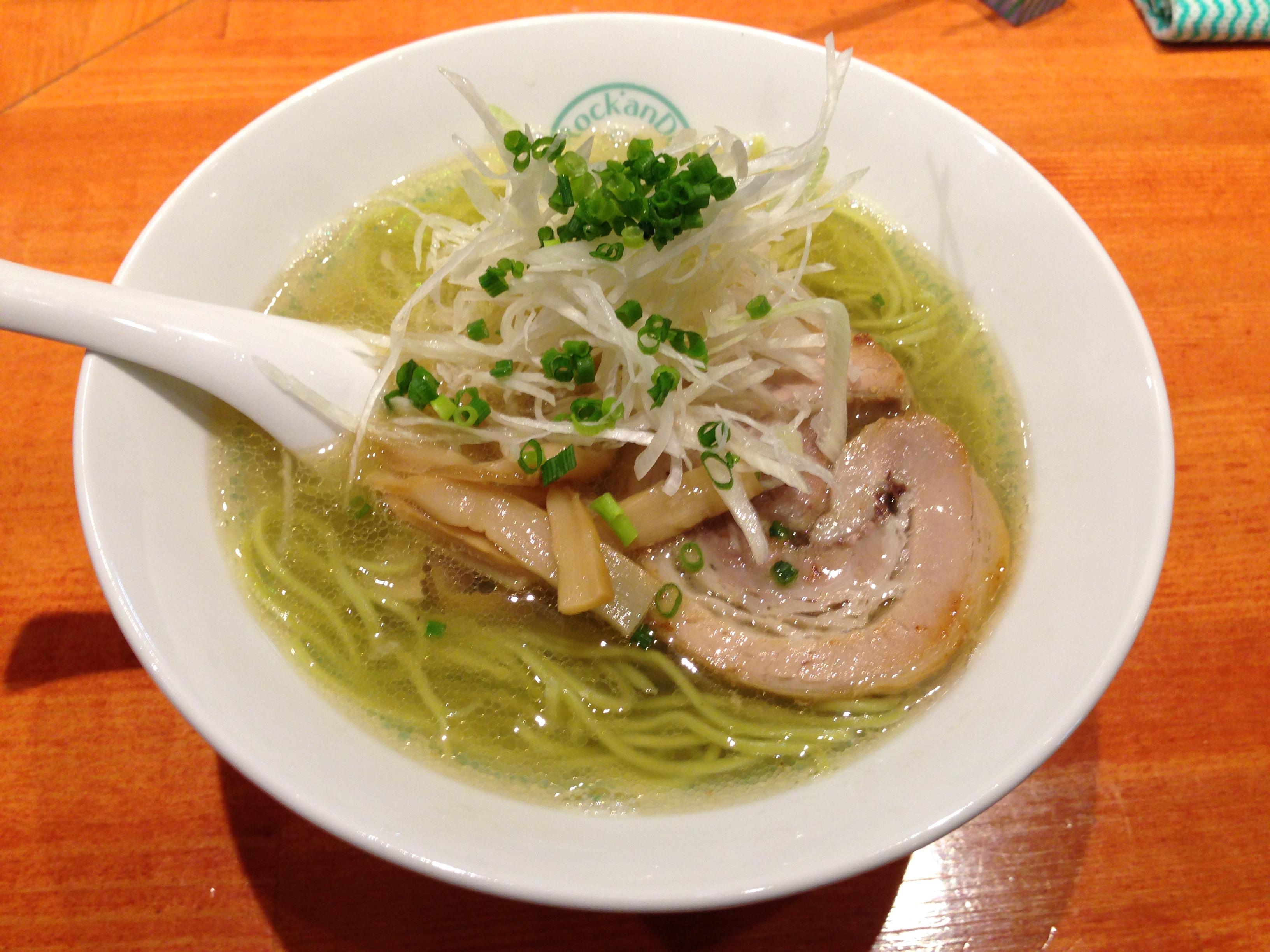 しおグリーン麺