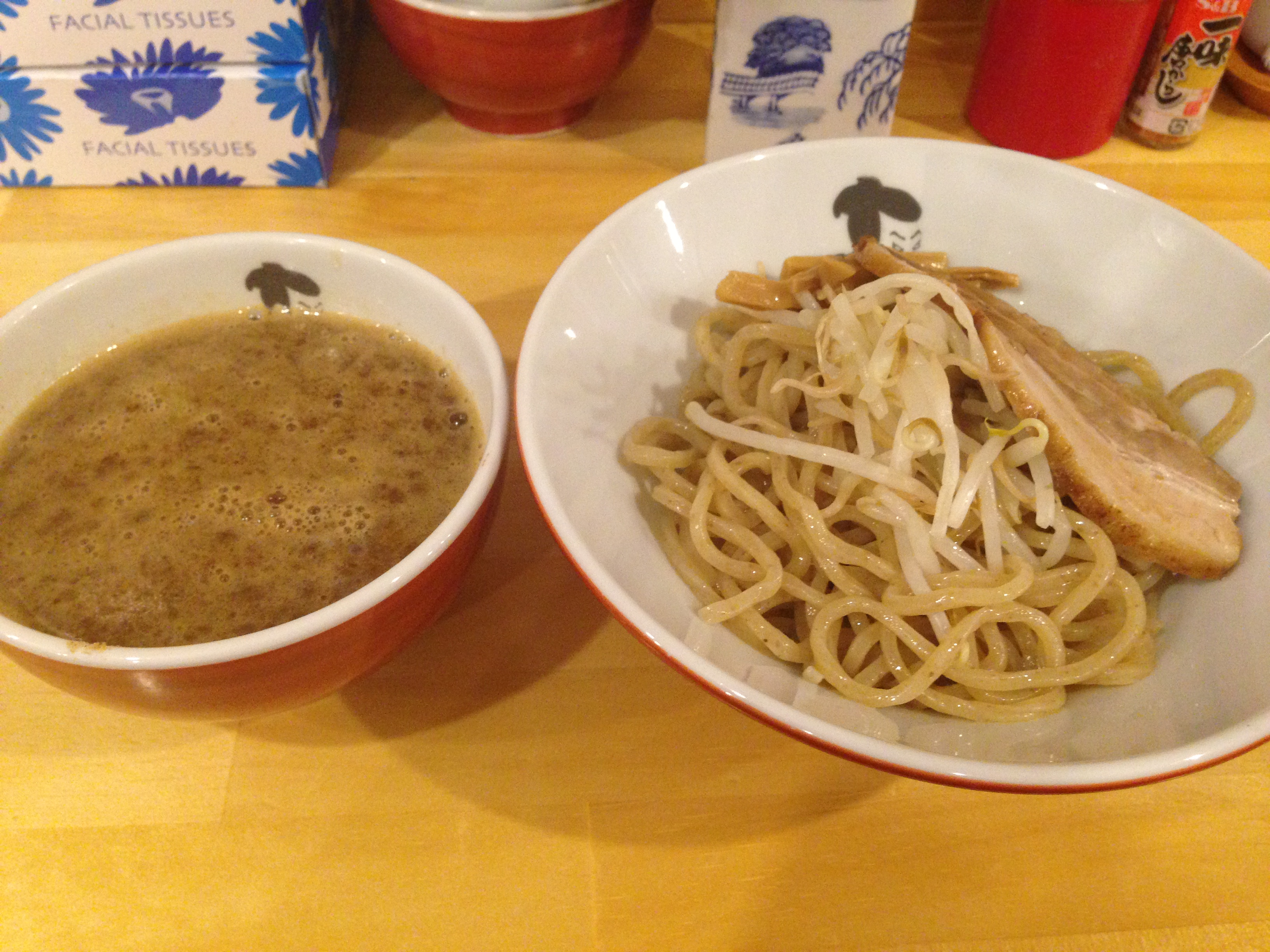 醤油つけ麺@写楽
