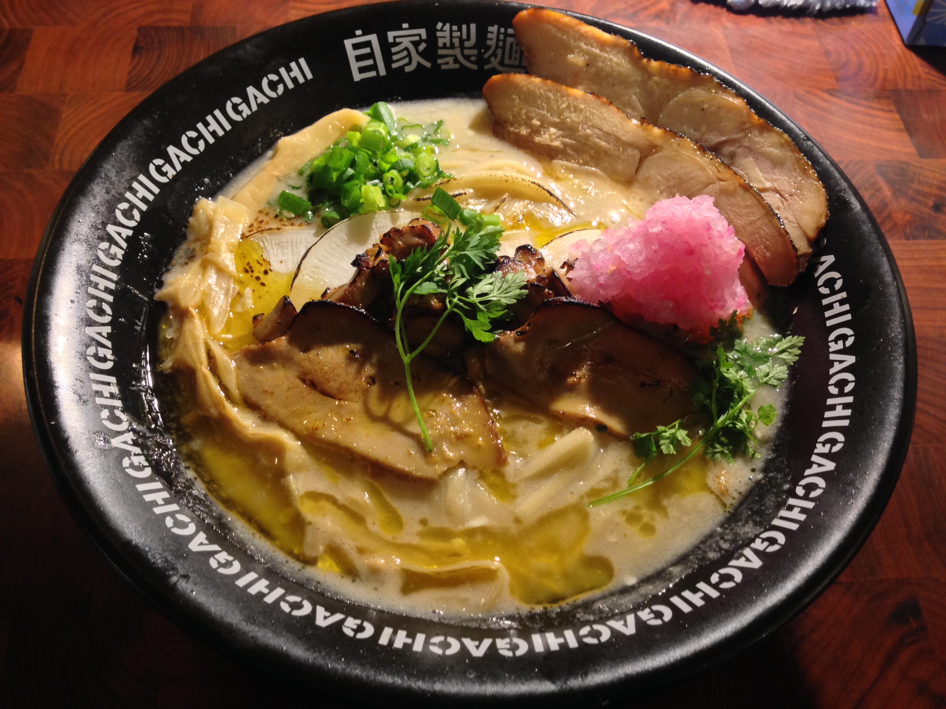 フォアグラ鶏白湯