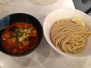 濃厚豚骨魚介つけ麺(味噌)