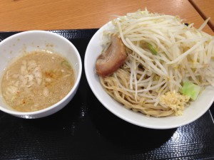 つけ麺@ジャンクガレッジ