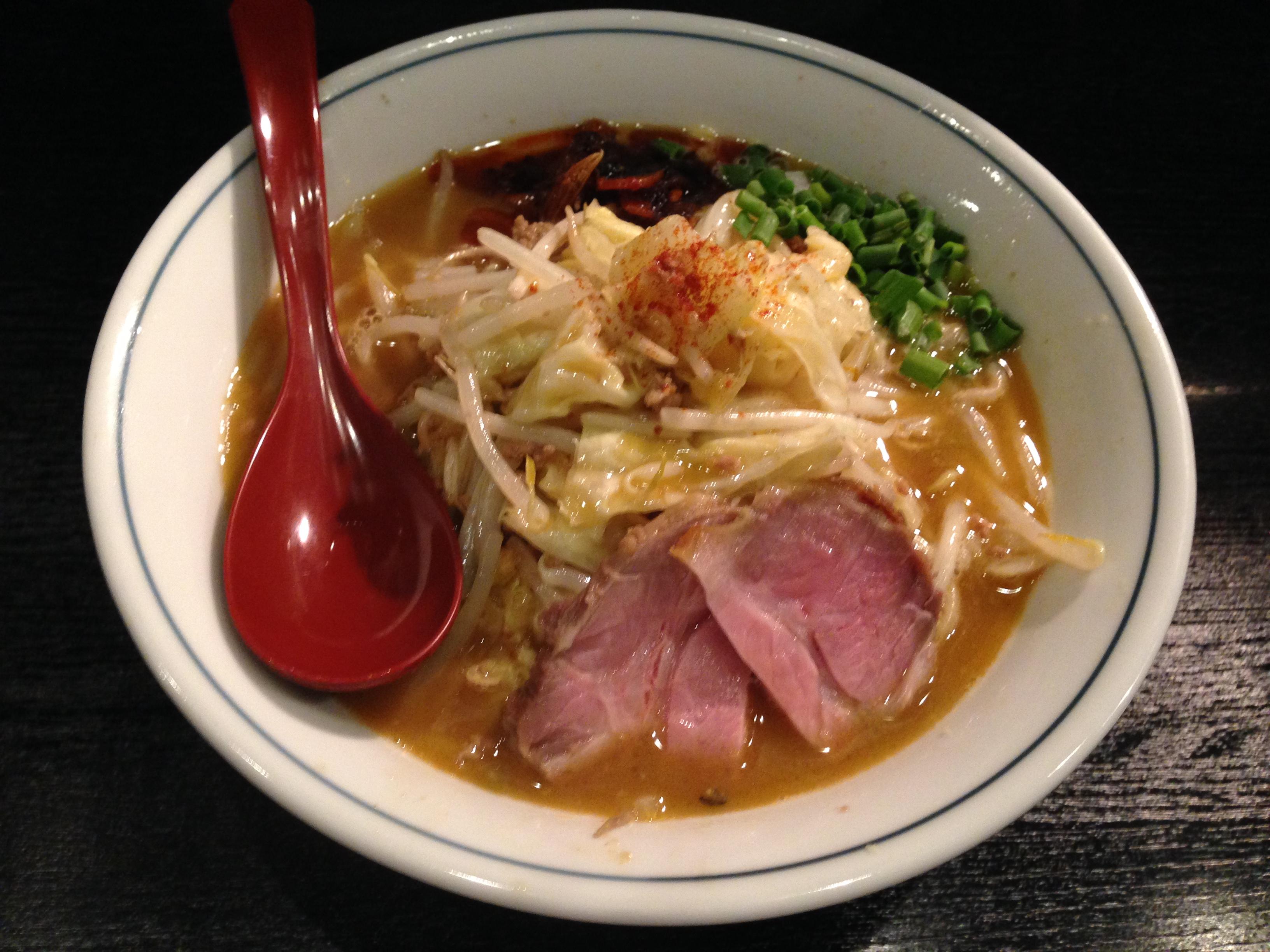 濃厚鶏白タンメン 野菜(小)チャーシュー1枚