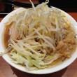 小ラーメン 麺カタめ野菜ちょい増しニンニクあり背アブラあり