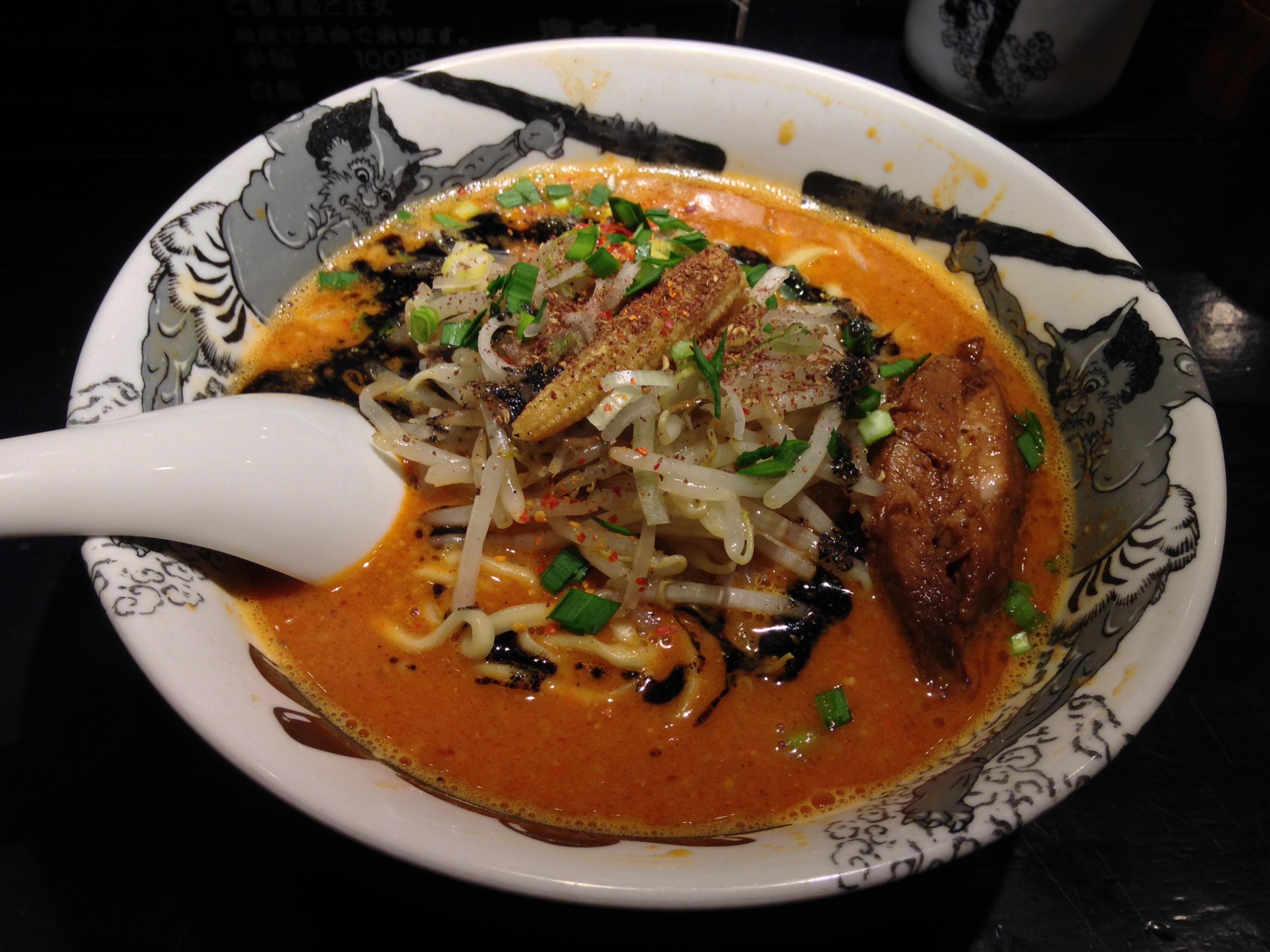 カラシビ味噌らー麺、カラ増しシビ増し